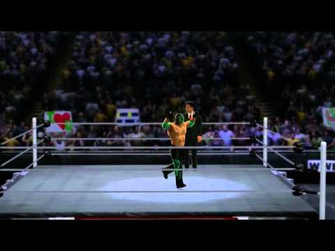 WWE 13 - Rey Mysterios Entrance + Finisher (WWE 13)