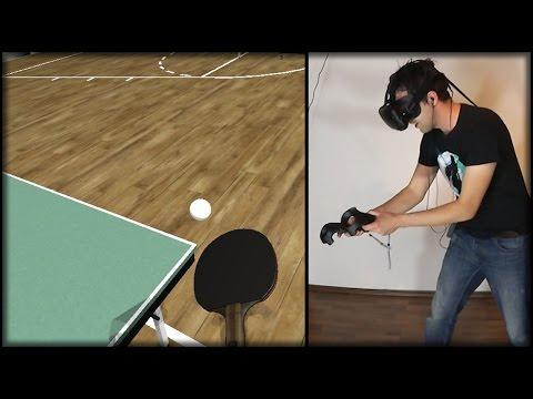 Virtual Reality Table Tennis | HTC Vive Virtual Reality