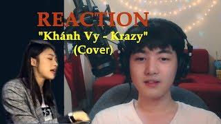 "Kim Phi Long ""KRAZY ABOUT"" Khánh Vy trong bản cover ""Krazy"" (Touliver x Binz x Andree)"
