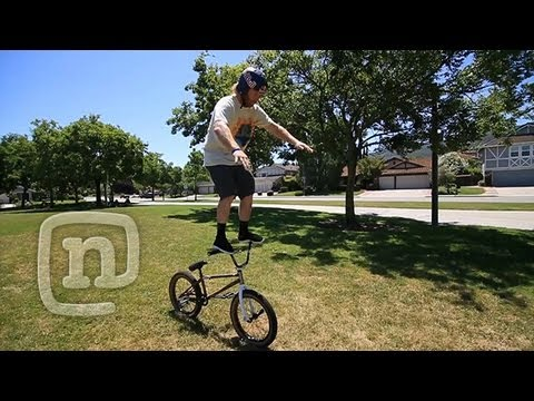 How To Bar Ride A BMX With Ryan...