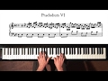 Bach Prelude And Fugue No 6 Moderate Tempo Well Tempered Clavier Book 1 With Harmonic Pedal mp3