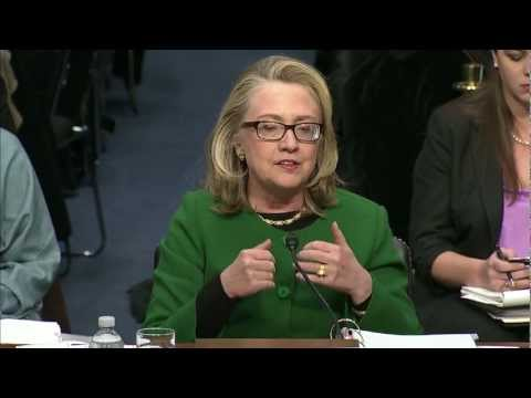 Watch the Full Clinton-Johnson Exchange from the Benghazi Hearing