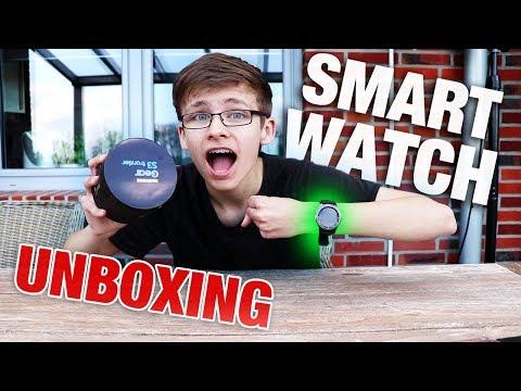 Meine SMARTWATCH ist endlich da!   Samsung Gear S3 Frontier Unboxing   Deutsch