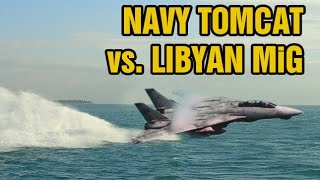 Declassified dogfight footage: F-14 Tomcat vs. Libyan MiG-23