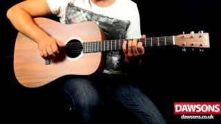 Martin DXK2AE Electro Acoustic Guitar Review