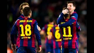 Barcelona [4 - 1] Espanyol / 06.01.2016 / Highlights and all goals / Leo - Pique - Neymar