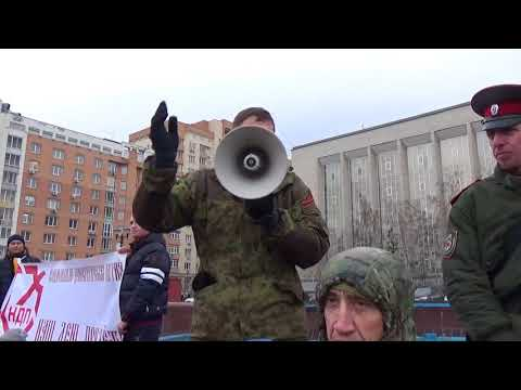 Евгений Логинов на Русском марше 2017