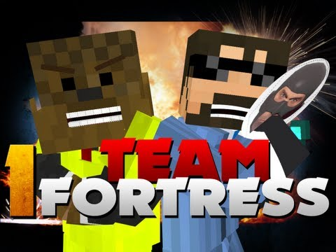Minecraft Team Fortress 2 - SPY OP!! (w/ JeromeASF)