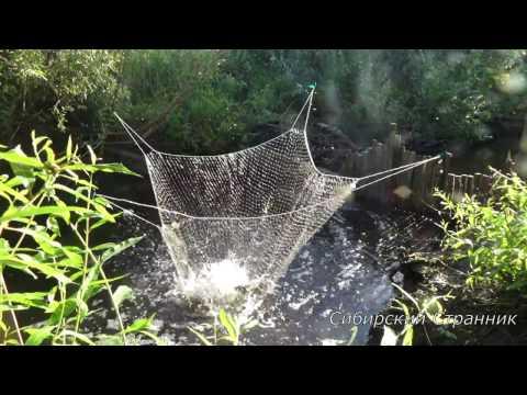 как сплести сетку для паука на рыбалку