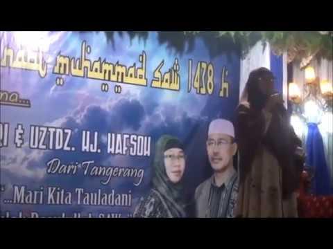 Ceramah Kocak Terbaru Duet KH. Shobari - Uztdz. Hj. Hafsoh Di Sukajaya Kalianda, Round 1