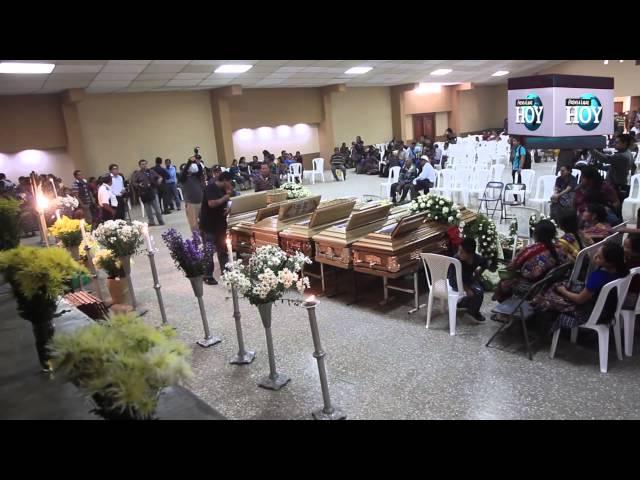 Velan a seis víctimas de masacre en caserío Pajoques