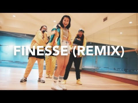 Finesse (Remix) - Bruno Mars ft. Cardi B (Dance Cover) | Hannah Kathleen w/ Allstars