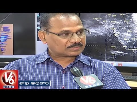 Meteorology Dept Officer Rajarao Face To Face Over Monsoon Rains And Weather Condition | V6 News