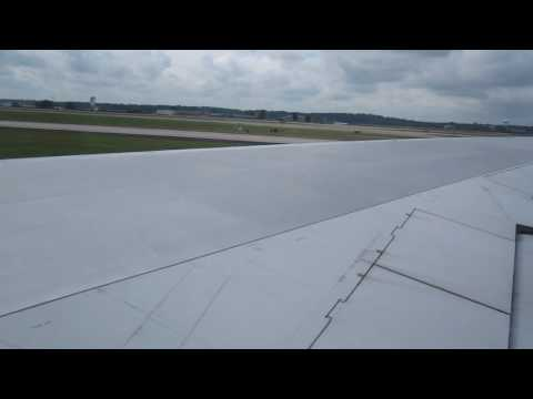 Northwest Airlines Delta Airlines Flight 803 747-400 Takeoff from ATL to HNL 8-19-09