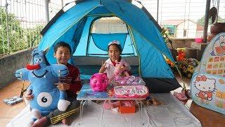 Trò Chơi Bác Sĩ Khám Bệnh Cho Thú Bông Oggy, Pink Panther và Heo Đất - Bé Minh MN Toys