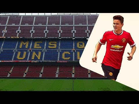 Manchester United midfielder Ander Herrera on Barcelona's radar