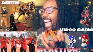LET THE NASTALGIA BEGIN!-ANIME THEMES VS VIDEO GAME THEMES REACTION
