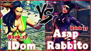 SFV AE - IDom (Laura) vs Asap Rabbito (Juri)