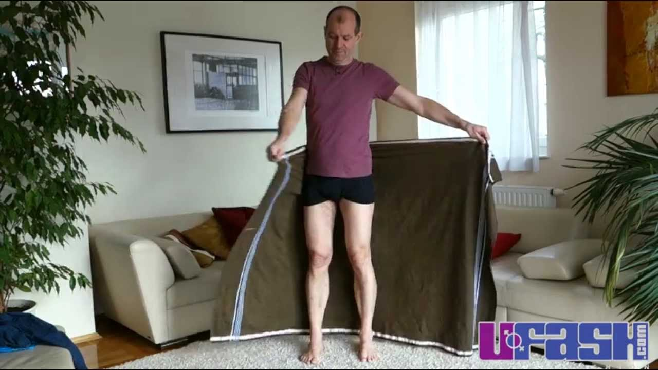 lungi oder sarong binden bzw wickeln anleitung how to tie wrap a lungi or sarong tutorial. Black Bedroom Furniture Sets. Home Design Ideas