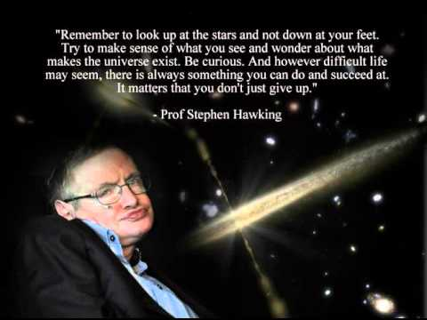 SEXY WALKING BLACK HOLE STEPHEN HAWKING PARODY SONG