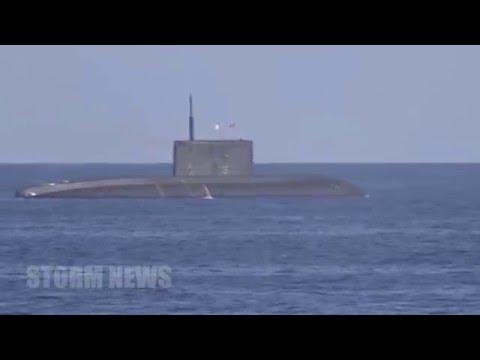ЧП непоказаное в новостях пуск крылатых ракет «Калибр» подлодкой «Ростов на Дону»