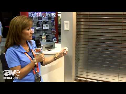 CEDIA 2014: QMotion Adds New Automated, Battery-Operated Venetian Blinds With Tilt/Shift Function