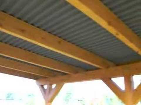 carport 6m x 6m youtube. Black Bedroom Furniture Sets. Home Design Ideas