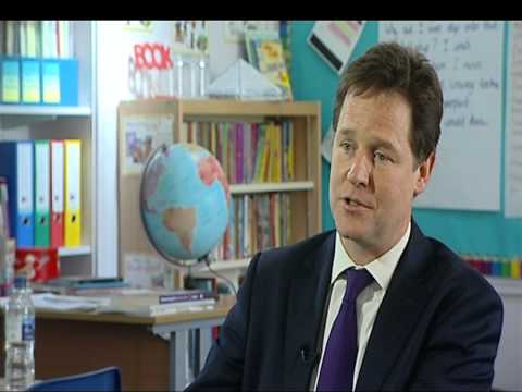 Nick Clegg hits the campaign trail