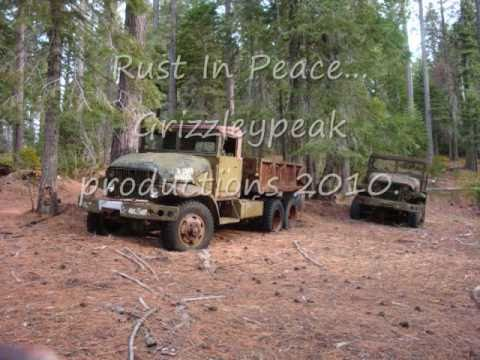 Abandoned Military Trucks Hidden in the Woods.
