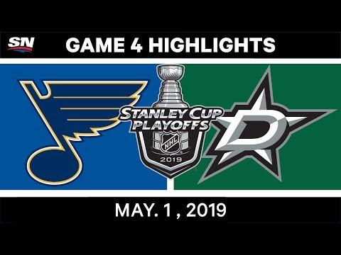 NHL Highlights   Blues Vs. Stars, Game 4 – May 1, 2019