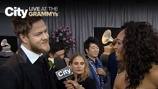 download musica Dan Reynolds explains the meaning behind Thunder City LIVE at the GRAMMYs