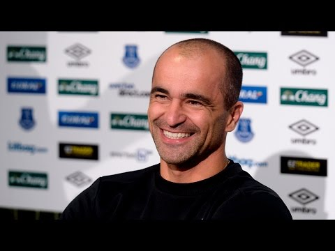 Roberto Martinez Pre-Bournemouth Press Conference