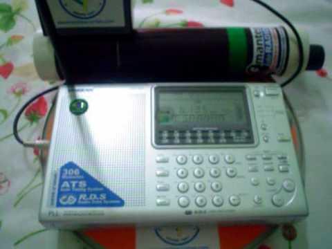 Shortwave Magnetic Loop Active Antenna - Antena Loop Magnética para Ondas Curtas