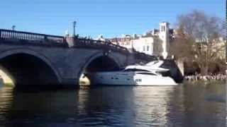 The Boat Crashes to the Richmond Bridge Part 1