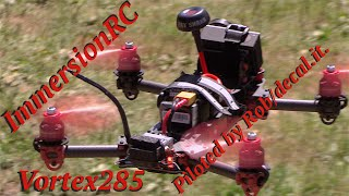 RC CWR ImmersionRC Vortex cruising the STC campsite with Rob from Decal/it piloting
