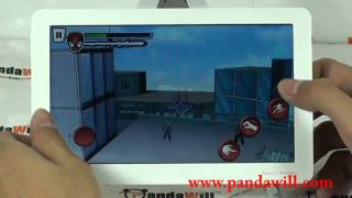 Spider Man HD Games on Ainol Novo 7 Paladin ICS 4.0 Tablet PC