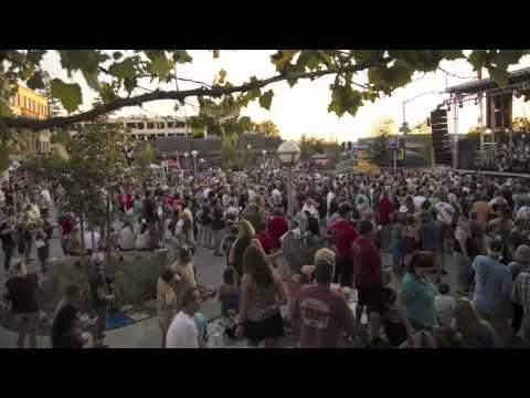 Sammy Hagar Concert Time lapse in Vernon Street Town Square
