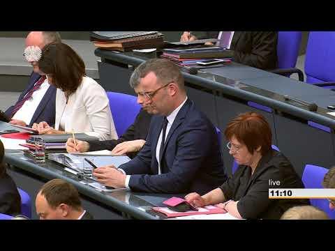 18.05.2018 Rede Bundestag zum Haushaltsplan Gesundheit
