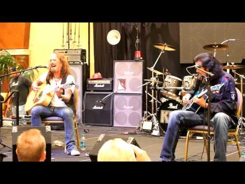 John Corabi&Bruce Kulick Perform Live at KISS EXPO Orlando 2012