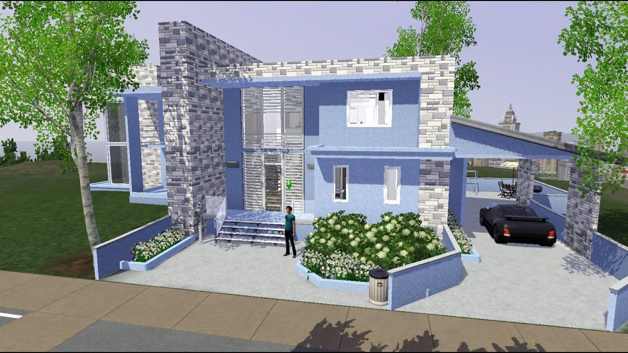 Красивые дома симс 3 схемы строения красивых домов фото