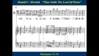 5 Handel Messiah Part 1 Thus Saith The Lord Bass