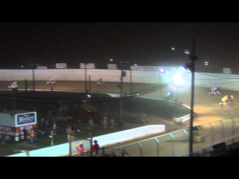 Port Royal Speedway 410 Sprint Car Highlight 9-05-14