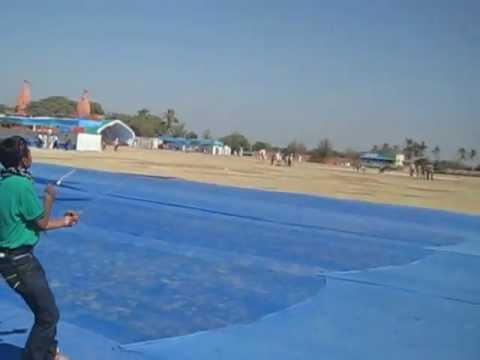 Kite Club India at International Kite Festival 2013 - Somnath - Akash Solanki - Kite Flyer India