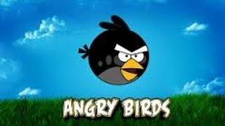 Мультик ИГРА для детей про энгри бердз уровни 6 - 9 Angry birds Bomb Злые птички бомбы против свинок
