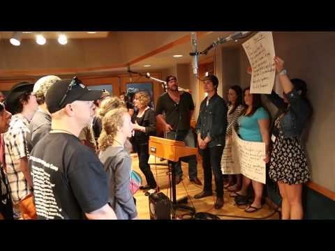 Recording Session with Lee Brice & Ross Copperman - ACM Lifting Lives Music Camp 2014