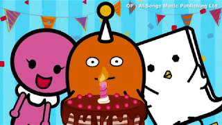 simple english songs -new happy birthday song - tinnie lilies
