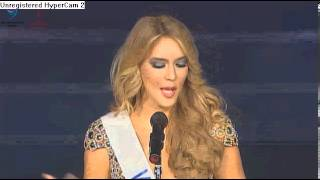 Miss Venezuela speech @ Miss International 2012