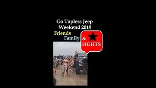 2019 Go Topless Jeep Weekend Crystal Beach Texas Fight on the Beach