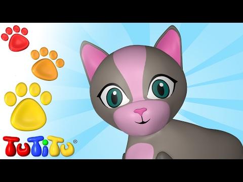 TuTiTu Deutsch | Tiere auf Deutsch | Katze und andere Tiere