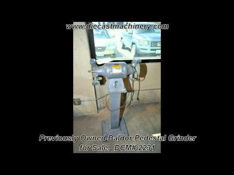 Used Baldor Pedestal Grinder. DCM 2231